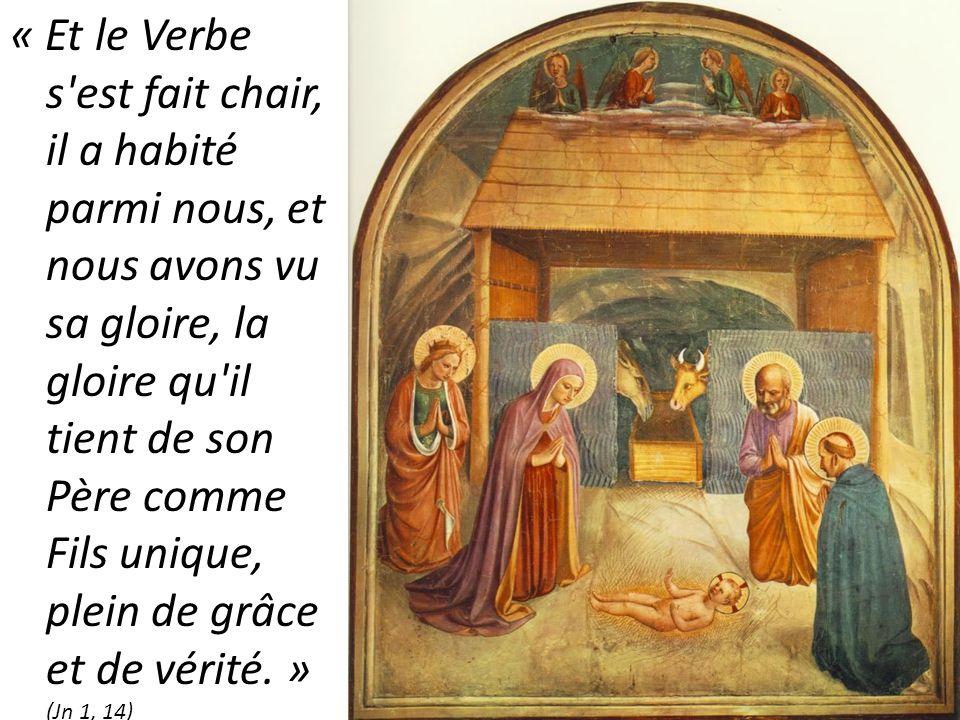 L'Évangile de Noël : le Verbe s'est fait chair - Association de la Médaille  Miraculeuse