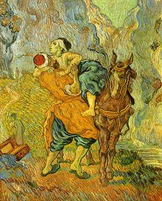 le bon samaritain Vincent van Gogh