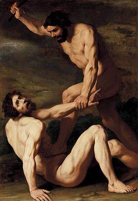 Caïn tuant Abel, par Daniele Crespi (1618-1620)