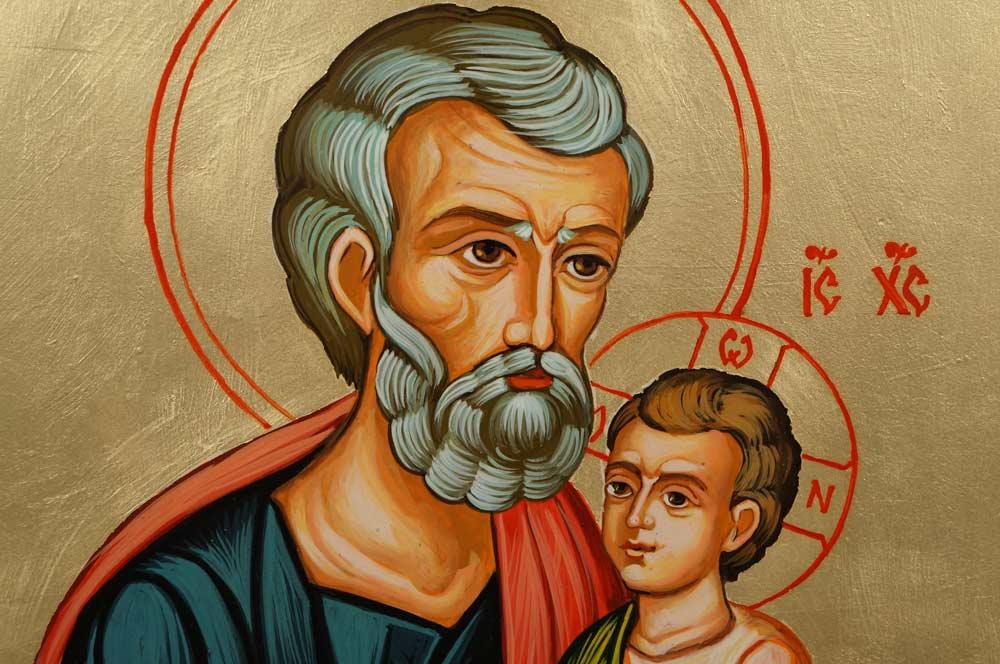 Saint Joseph et Jésus enfant