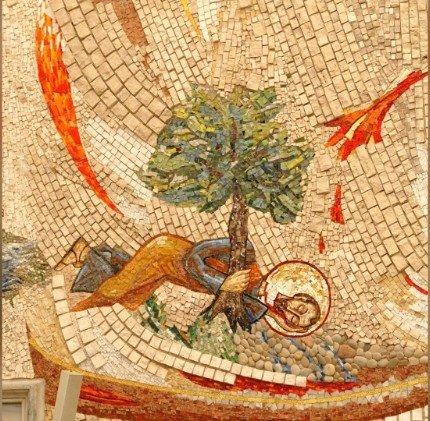 premiers martyrs chrétiens mosaïque