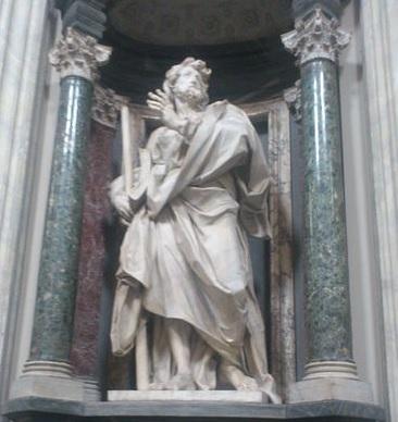 Saint Jacques le Mineur, basilique Saint-Jean-de-Latran, Rome, Italie.
