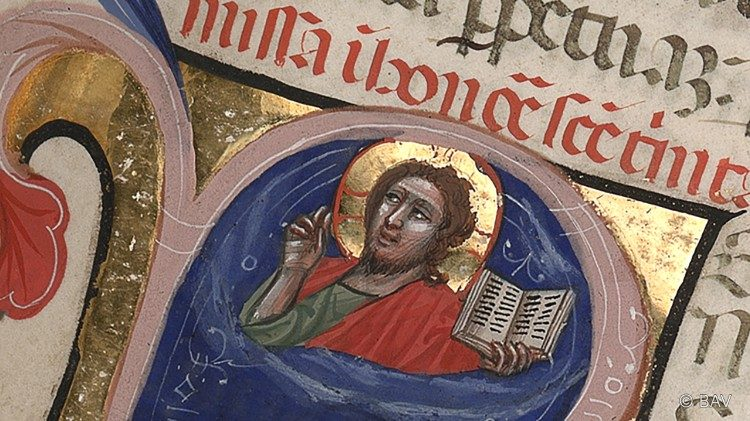 Visage du Christ - Manuscrit latin  Biblioteca Apostolica Vaticana