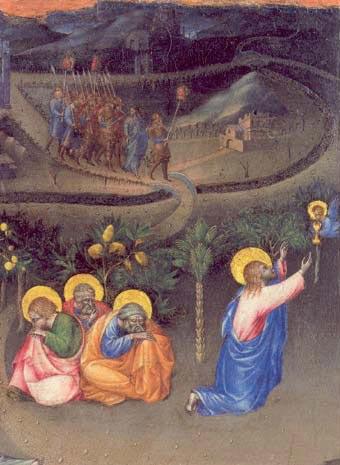 Gethsémani Giovanni di Paolo 1399-1482 de Sienne