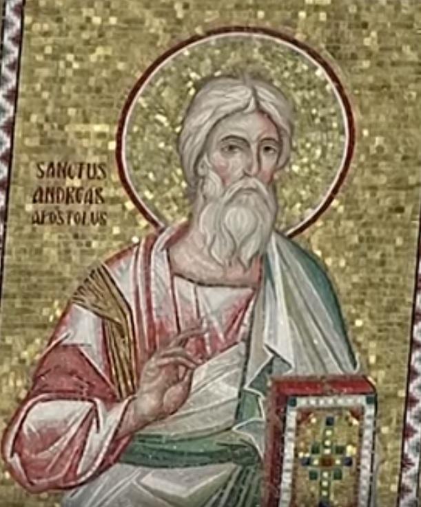 Icône de saint André apôtre