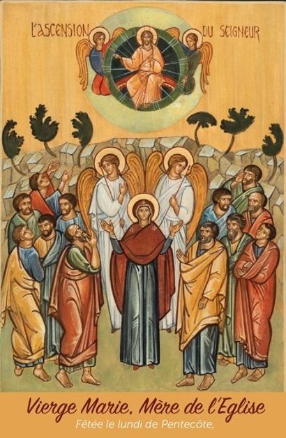 Vierge Marie, Mère de l'Église
