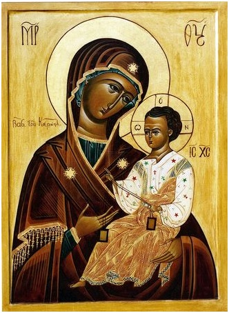Icône de Notre Dame du Mont Carmel