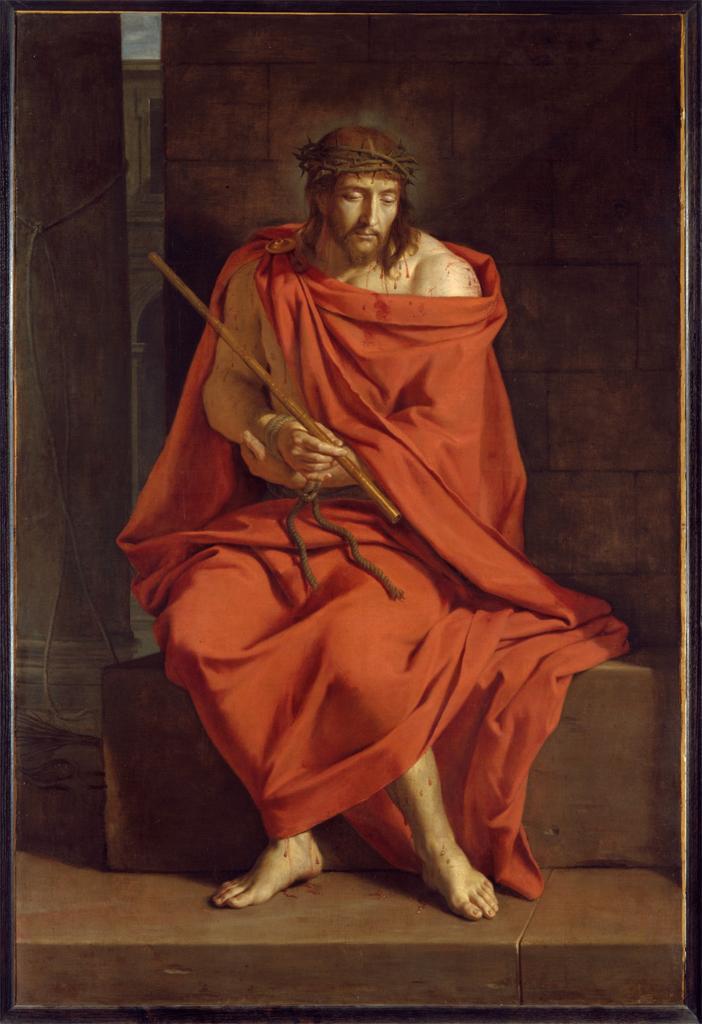 Ecce Homo - Philippe de Champaigne (1602–1674) huile sur toile Musée des Granges de Port-Royal des Champs