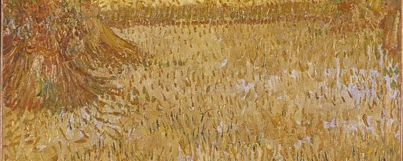 . Priez le maître de la moisson d'envoyer des ouvriers - détail d'une toile de Van Gogh
