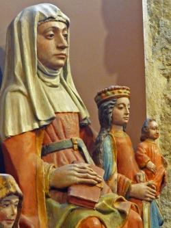 Trinité bretonne -Saintes Anne, Marie et Jésus - Sainte Anne d'Auray