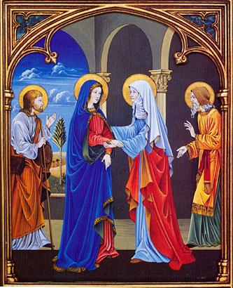 La Visitation de Marie à Élisabeth
