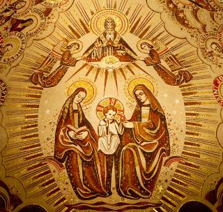 Sainte Anne Marie Jésus sous la Trinité- Sainte-Anne de Beaupré - Québec