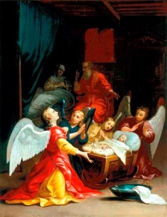 Claudine Bouzonnet-Stella + 1697 – La Naissance de la Vierge