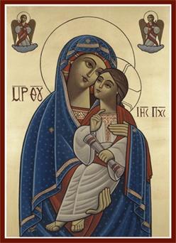 médiation du Christ - icône chère à Marthe Robin