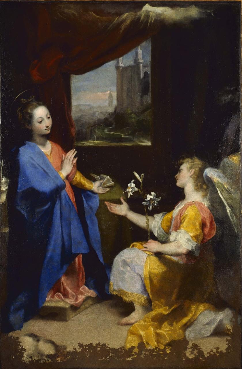 Annonciation - Baroche - 1582-1584 - Pinacothèque du Vatican