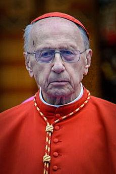 cardinal Roger Etchegaray