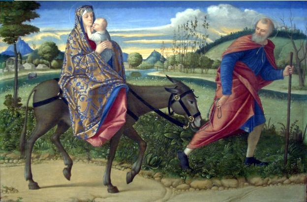 La fuite en Egypte Vittore Carpaccio 1500