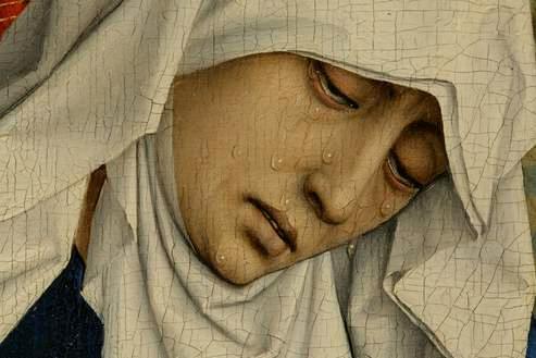 la Mère des douleurs, près de la croix - Rogier van der Weyden (ca. 1399 – 1464) musée du Prado