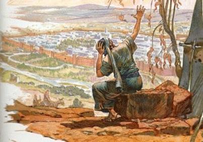 Jonas devant Ninive