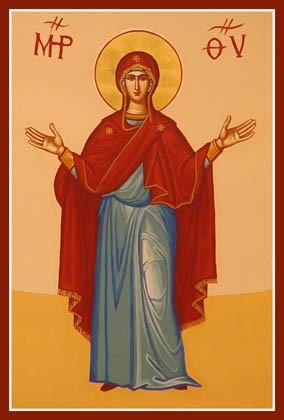 Mois du Rosaire - 13 - Mère de Dieu