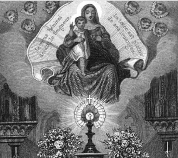 Mois du Rosaire - Je vous bénirai devant le Seigneur