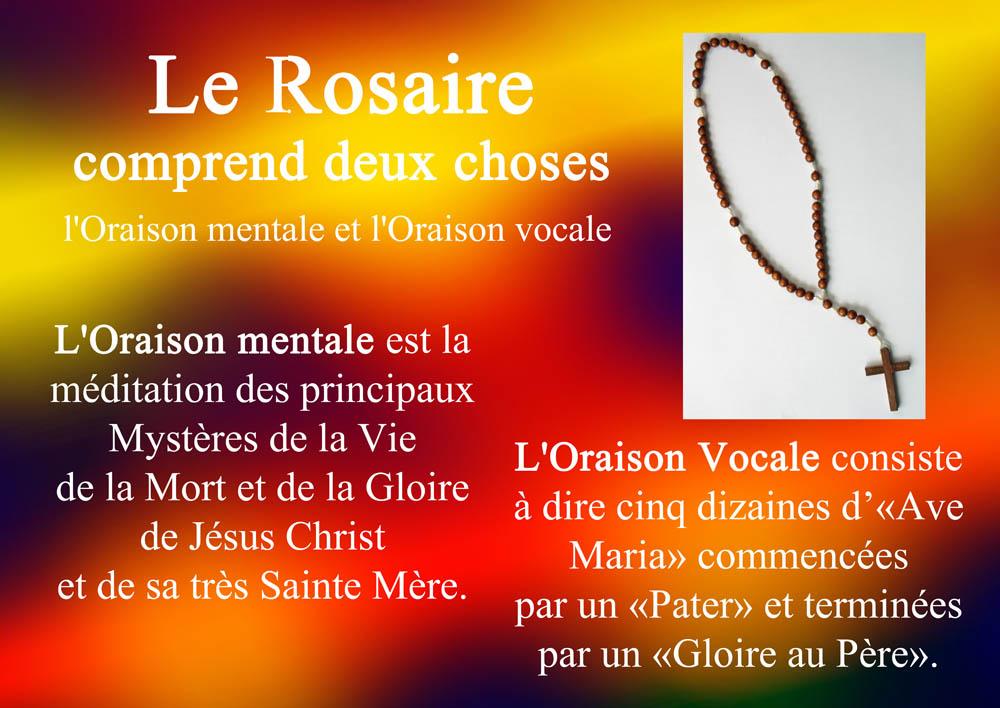 afficher le Rosaire