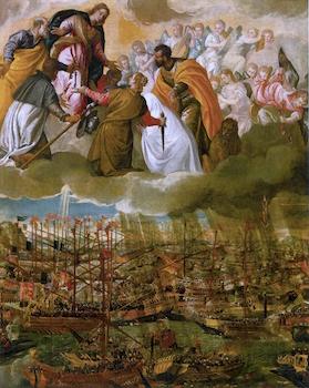 Batalle de Lépante - Paul Véronèse - 1588