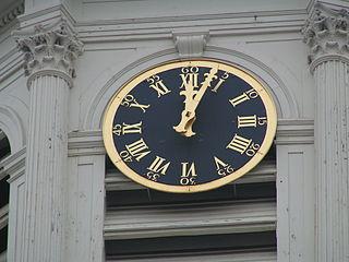 horloge église de Saint-Jacques-sur-Coudenberg Bruxelles