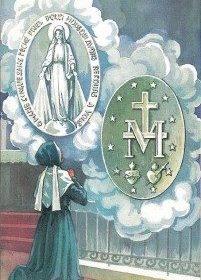 Sœur Catherine Labouré et la sainte Médaille