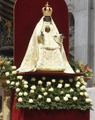 La Sainte Mère de Dieu dans la basilique vaticane