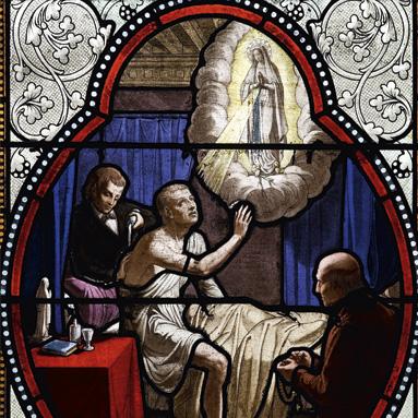 1ère guerison à Lourdes
