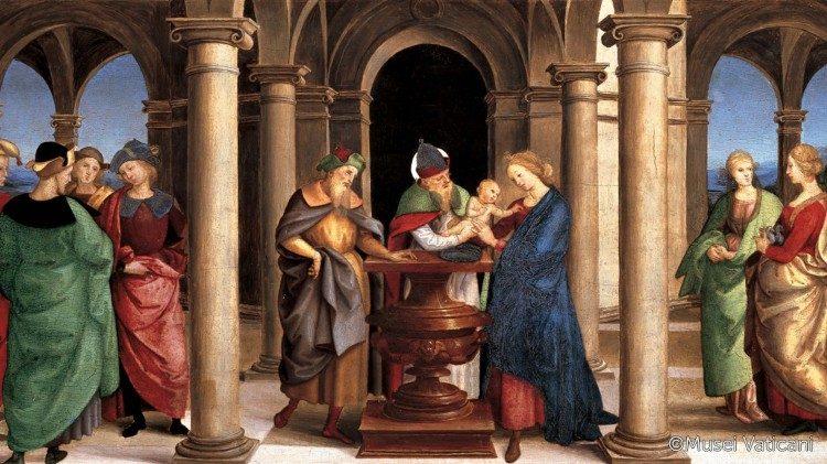 Présentation de Jésus au Temple 1460 Andrea Mantegna, Gemäldegalerie Berlin