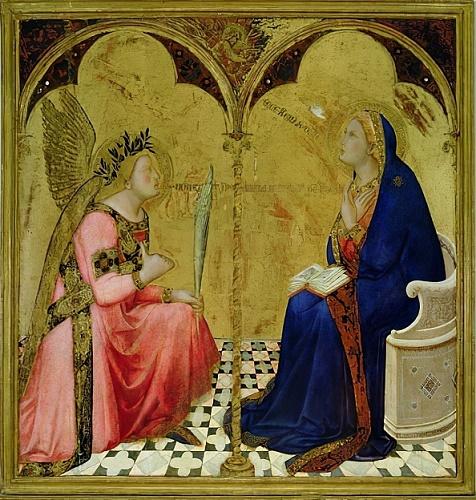 Ambrogio-Lorenzetti-l-Annonciation-1344-Pinacothèque-Sienne