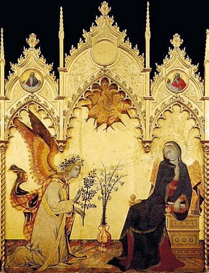 Annonciation Tempera sur bois XVIe Siècle Florence DR