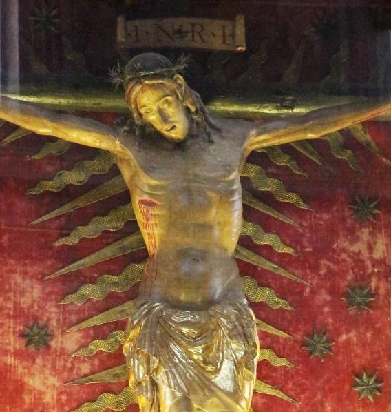 Le Christ miraculeux (église Saint Marcello à Rome) a sauvé Rome de la grande peste de 1522 et le pape est venu le prier lors d'un pèlerinage surprise le 15 mars dernier. Le vénéré Christ Miraculeux a exceptionnellement quitté l'église San Marcelo pour être installé à Saint-Pierre de Rome, où le Pape a prié à nouveau, ce vendredi 27 mars, lors d'une veillée de prière historique retransmise en direct.