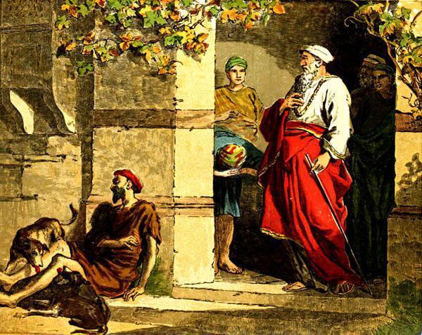 Le riche et le pauvre Lazare