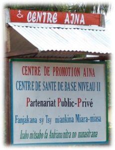 Le Centre AINA Manakara Madagascar