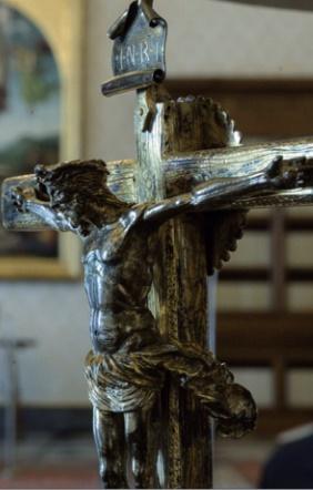 Christ dans la bibliothèque apostolique Vatican
