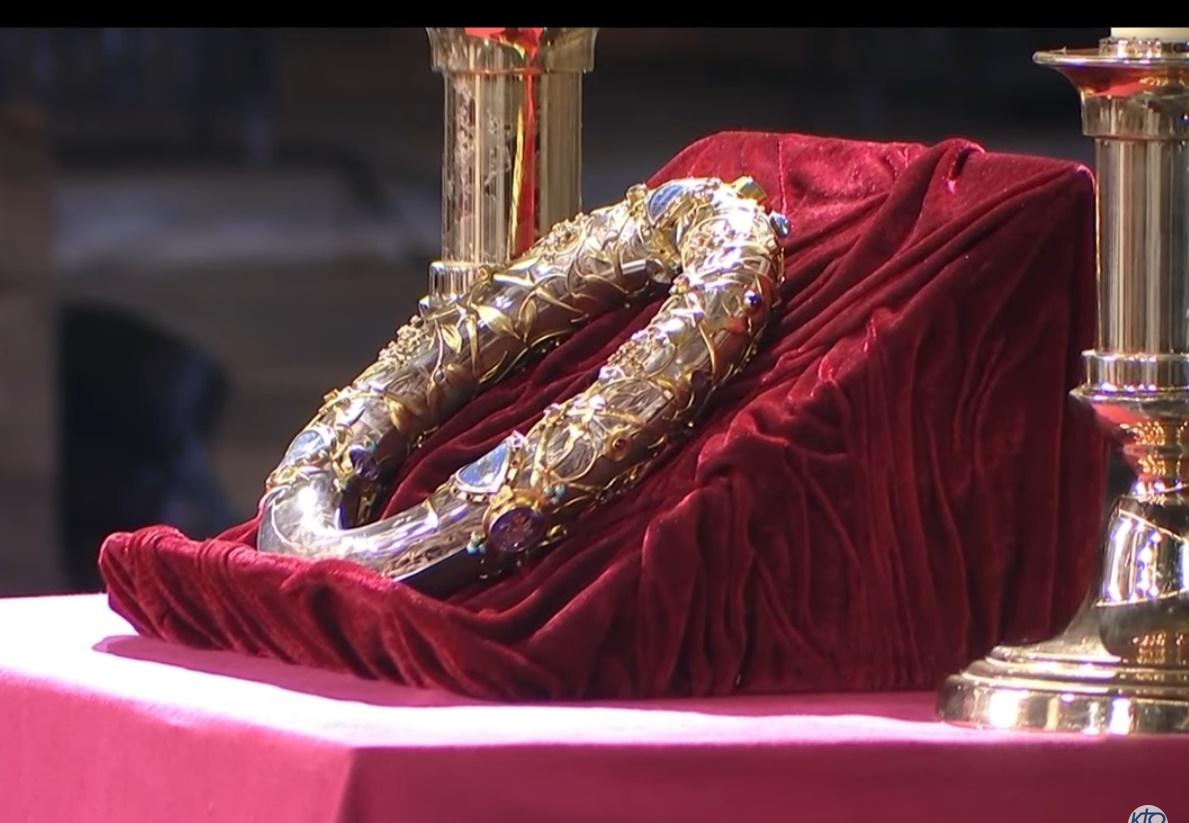 La couronne d'épines - cathédrale de Paris