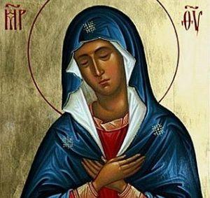 icône de Notre-Dame des douleurs