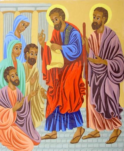 Saint Paul à Antioche de Pisidie - Sr Teresa Groselj, fsp