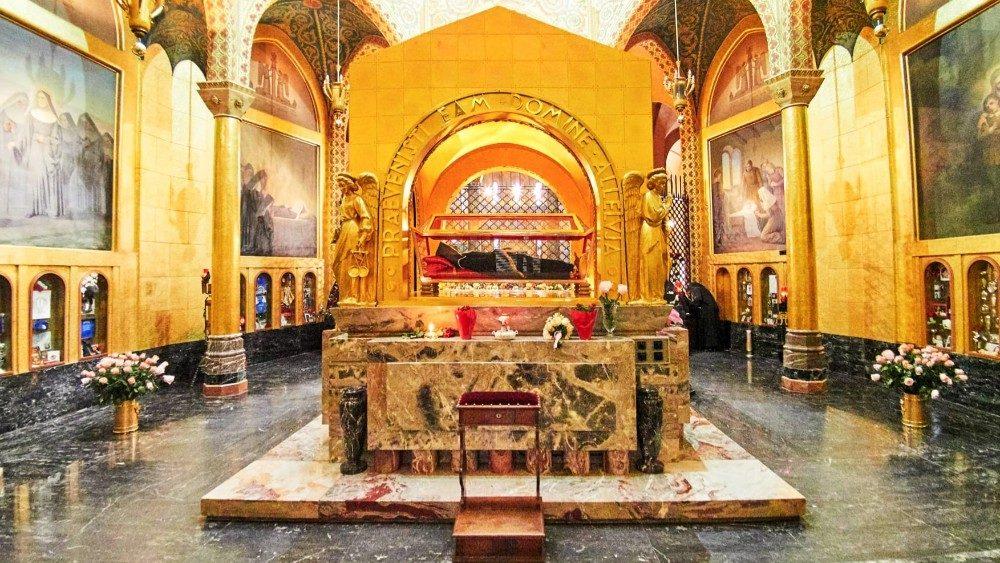 Reliques de Sainte Rita - basilique de Cascia