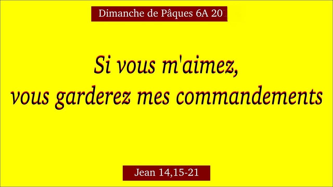 garder les commandements