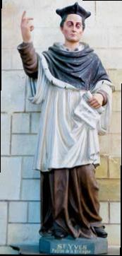 saint Yves - église saint Clair de Saillé - DR