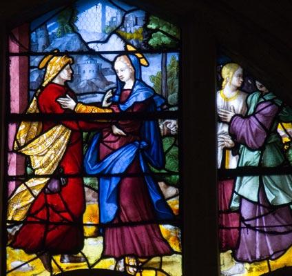 Visitation St Pierre de Montfort l'Amaury