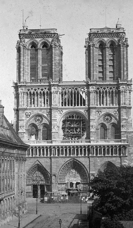 Notre-Dame de Paris début XIXe siècle