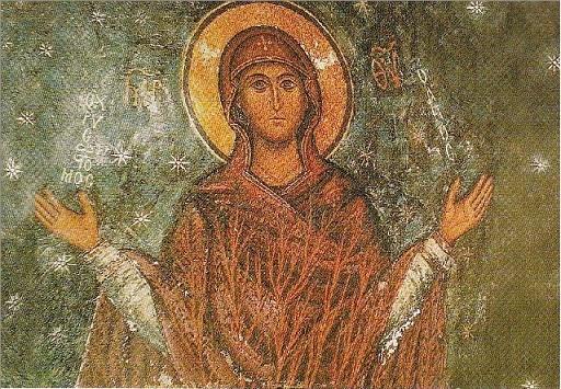 Marie Mère du Rédempteur monastère de sainte Catherine au Mont Sinaï
