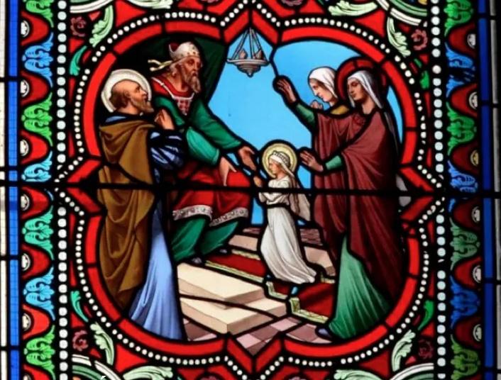 Présentation de Marie au Temple église de Vertaison 63
