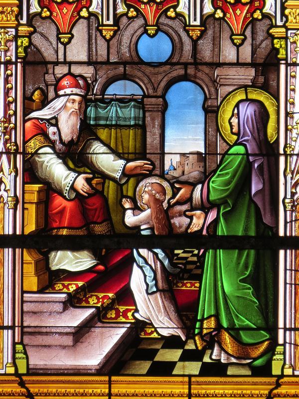 Présentation de Marie - église Saint-Pierre-Saint-Paul - Baguer-Morvan - 35