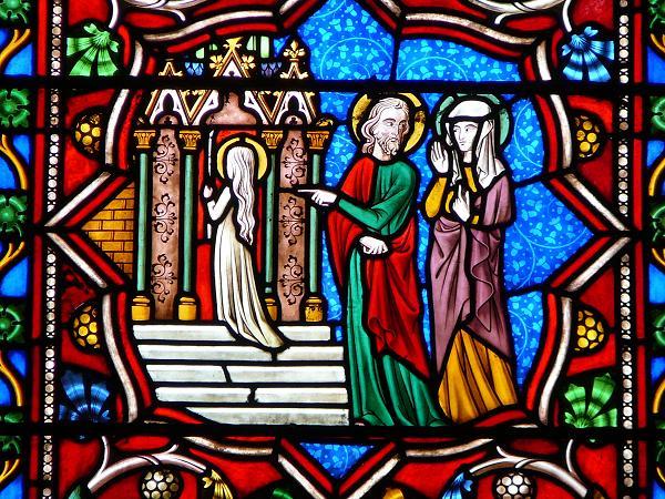 Présentation de Marie -église de Saint Bonnet 18